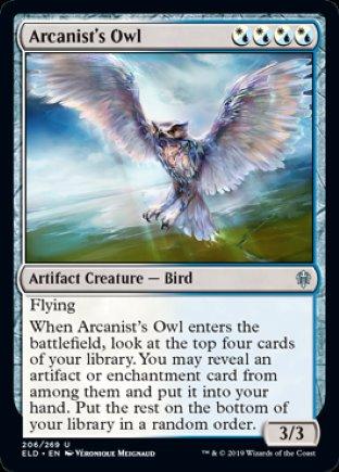 Arcanist's Owl | Throne of Eldraine