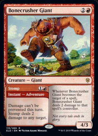 Bonecrusher Giant | Throne of Eldraine