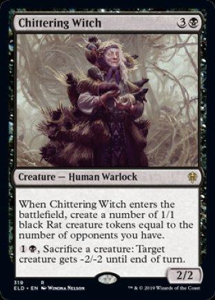 Chittering Witch   Throne of Eldraine