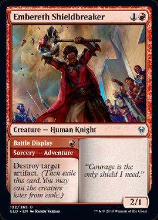 Embereth Shieldbreaker | Throne of Eldraine