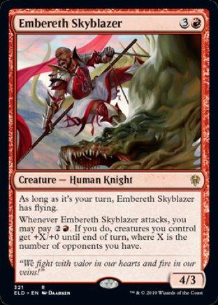 Embereth Skyblazer   Throne of Eldraine
