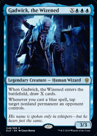 Gadwick, the Wizened | Throne of Eldraine
