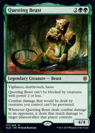 Questing Beast | Throne of Eldraine