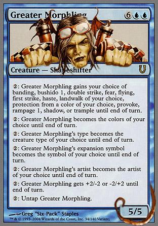Greater Morphling | Unhinged