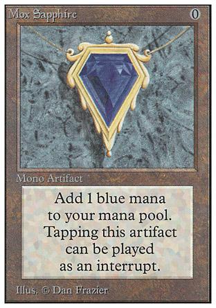 Mox Sapphire | Unlimited