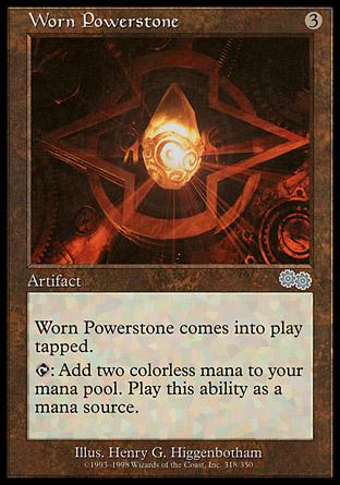 Worn Powerstone | Urzas Saga