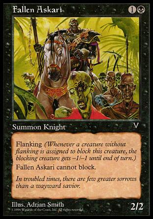 Fallen Askari | Visions