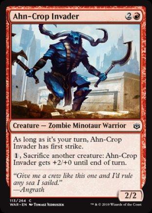 Ahn-Crop Invader | War of the Spark