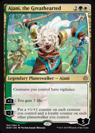 Ajani, the Greathearted | War of the Spark