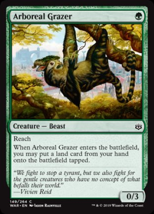 Arboreal Grazer | War of the Spark