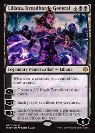 Liliana, Dreadhorde General | War of the Spark