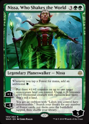 Nissa, Who Shakes the World | War of the Spark