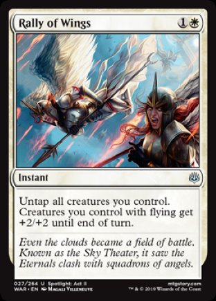 Rally of Wings | War of the Spark