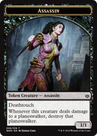 Assassin token | War of the Spark