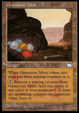 Gemstone Mine | Weatherlight
