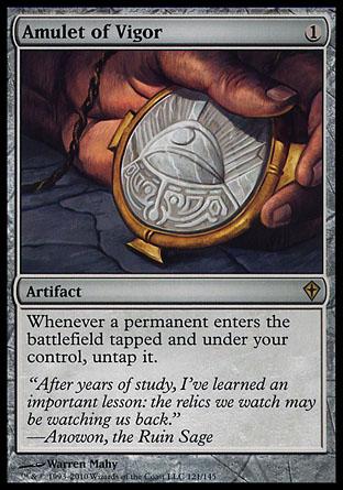 Amulet of Vigor | Worldwake