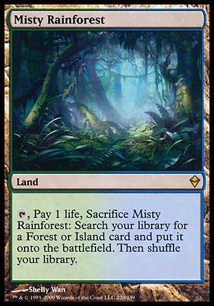 Misty Rainforest | Zendikar