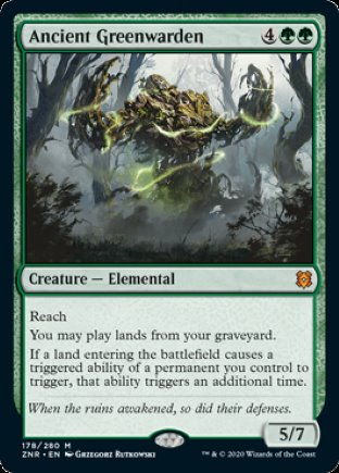 Ancient Greenwarden | Zendikar Rising