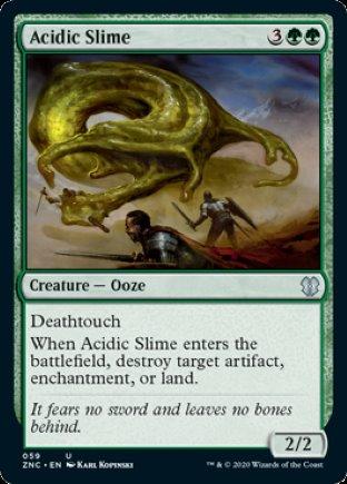 Acidic Slime | Zendikar Rising Commander