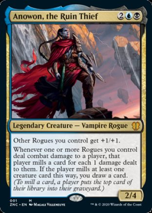 Anowon, the Ruin Thief | Zendikar Rising Commander