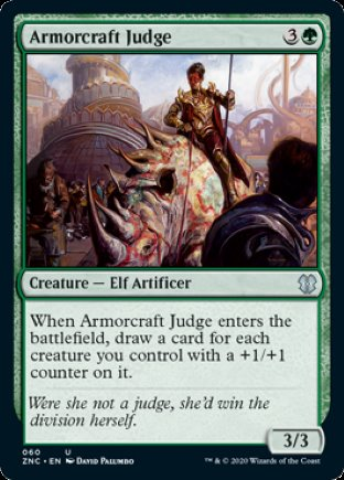 Armorcraft Judge | Zendikar Rising Commander