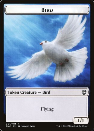 Bird token | Zendikar Rising Commander