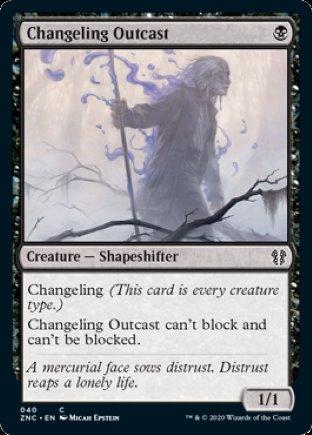 Changeling Outcast   Zendikar Rising Commander