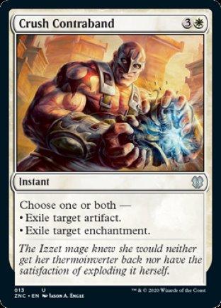 Crush Contraband | Zendikar Rising Commander