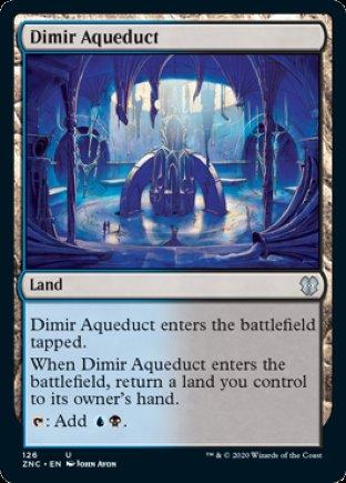 Dimir Aqueduct | Zendikar Rising Commander