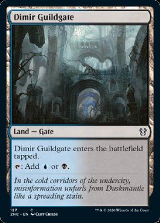 Dimir Guildgate | Zendikar Rising Commander