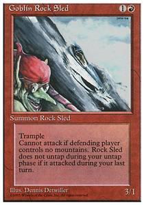 Goblin Rock Sled