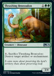 Thrashing Brontodon